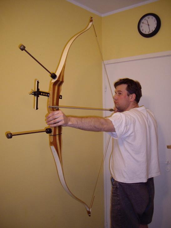 Как сделать щит для стрельбы из лука своими руками 24